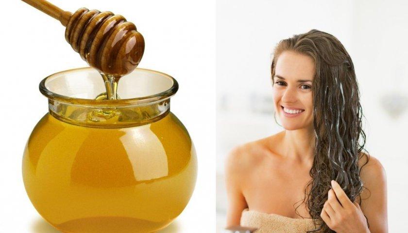 Маски для волос из гречишного мёда