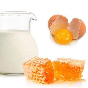 Мед и молоко лечение кашля - народный рецепт