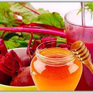 Рецепт из мёда и свеклы против насморка — народное средство