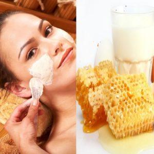Маска для сухой кожи - народный рецепт( Мёд.Желток.Сливки)