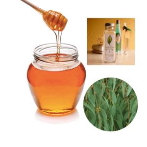 мед, эвкалипт, глицерин