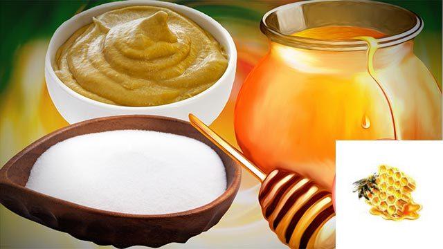 Рецепт от бронхита (мед, сода, горчица)
