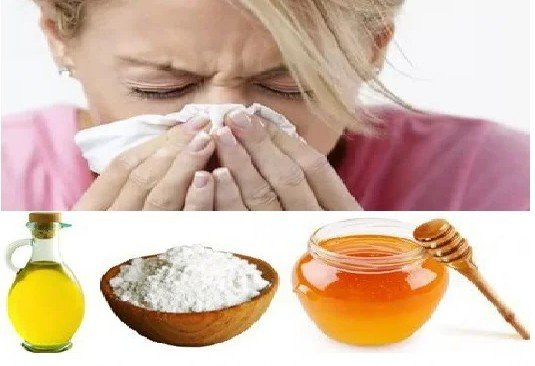 Мед сода и подсолнечное масло рецепт от гайморита