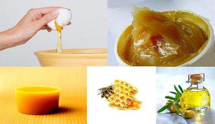 Рецепт мази от псориаза (мед, яичный белок, солидол, крем)