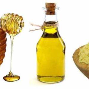 горчица, мед, масло
