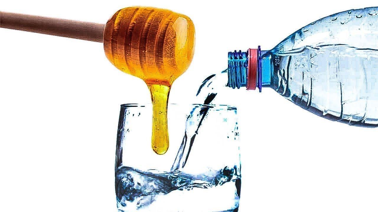 лосьон для умывания (мед, вода)