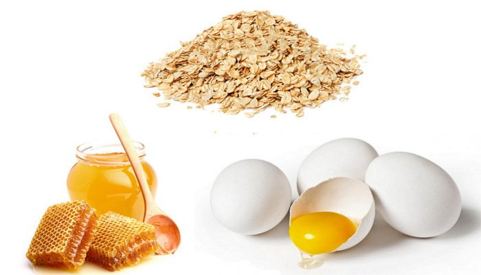 Маска против морщин на руках (яйцо, мед, овсяные хлопья)