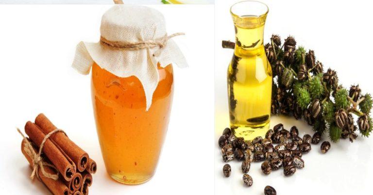 Маска для объема и роста волос на основе мёда