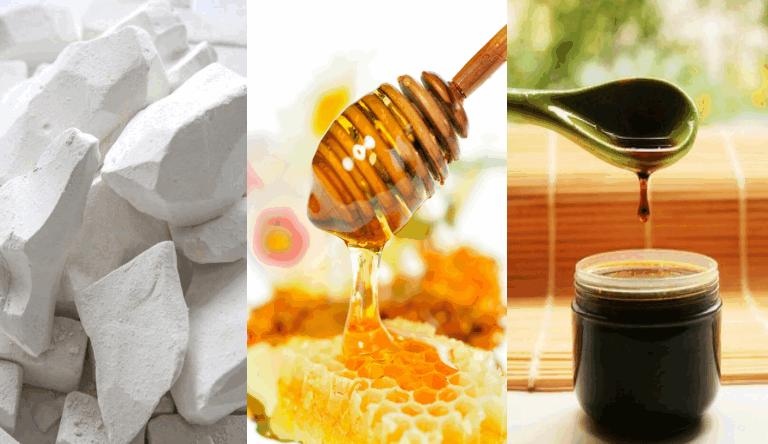 Компресс от рожистого воспаления (мел, деготь, мед)