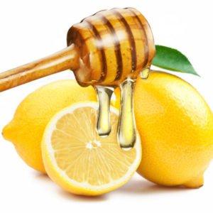 маска отбеливающая для лица (мед, лимон)
