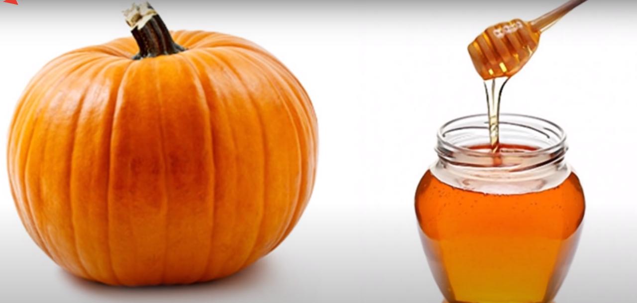 рецепт тыква и мёд от печени