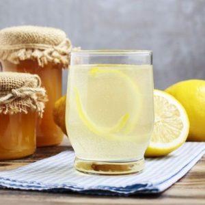 Лимонад с мёдом и лимоном