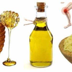 Средство от боли в суставах (мед, соль, белок, кунжутное масло, горчичный порошок)