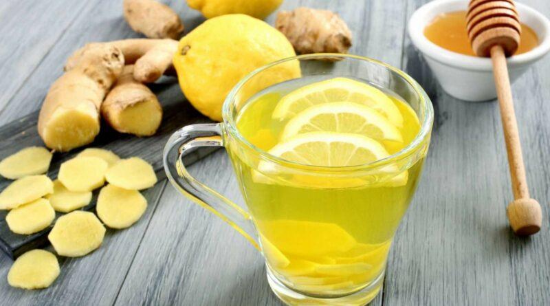 настойка (мед, имбирь, лимон)