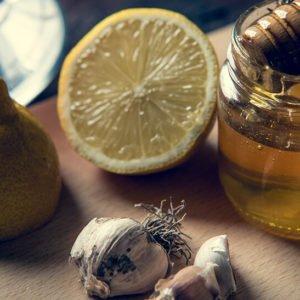 (мед, чеснок, лимон)
