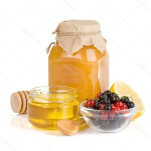 Медовый квас (мед, лимон, мята, дрожжи)