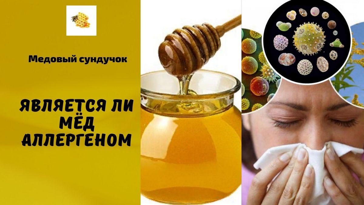 является ли мёд аллергеном