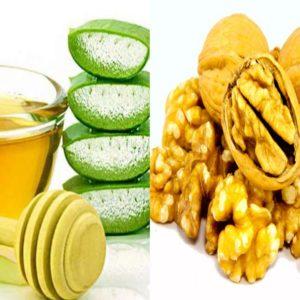 Рецепт мёд грецкие орехи и сок алоэ