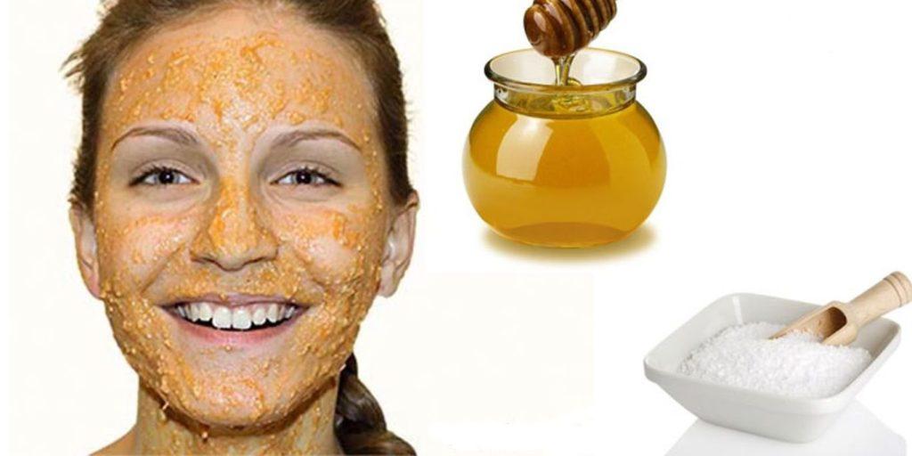 пилинг и маска из мёда
