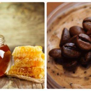 скраб кофе мёд