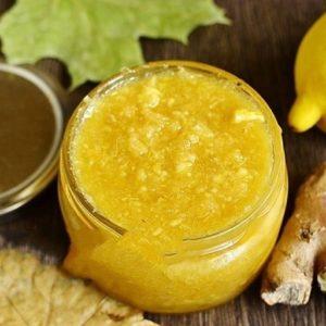Рецепт мёд имбирь и лимон с кожурой