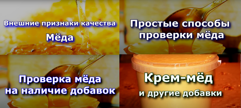 Как отличить натуральный мед от поддельного Vse-promoyd10-1