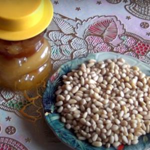 рецепт мёд с кедровым орехом