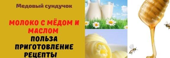 Молоко с мёдом и маслом - Польза. Приготовление. Рецепты