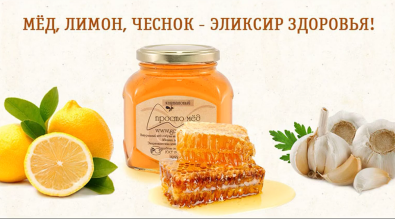 мёд чеснок лимон рецепты