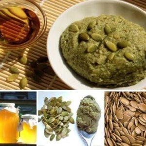 Тыквенные семечки с мёдом от простатита