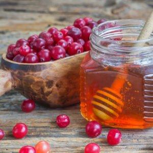 клюква мёд от давления рецепт