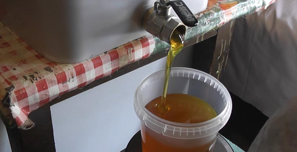 васильковый мёд описание