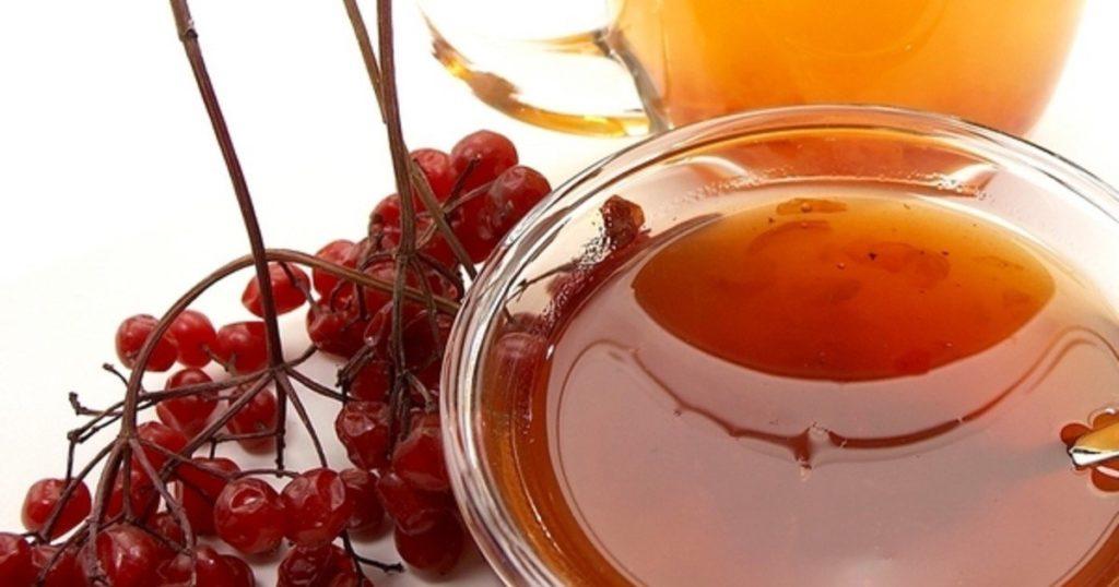 Полезные свойства калины с медом