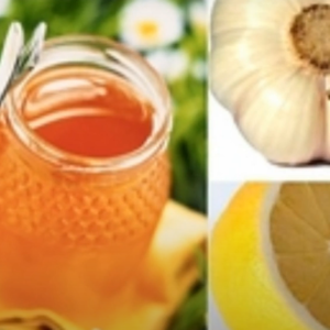 Напиток для очищения сосудов и снижения давления (Мед. Лимон. Чеснок)